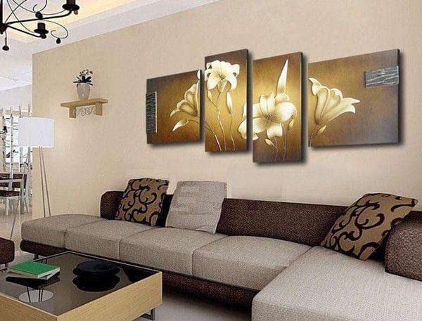 модульные картины для гостиной