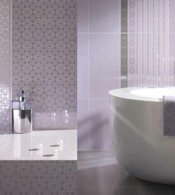 изысканный дизайн ванной с плиткой Paradiz