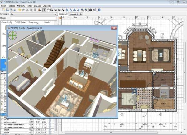 3d дизайн интерьера программа