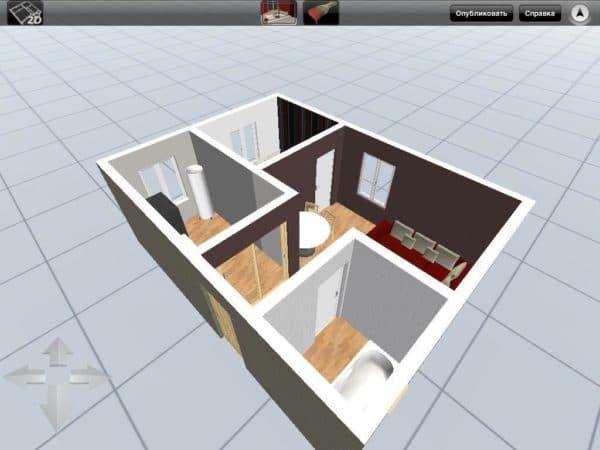 программа дизайна квартиры онлайн на русском
