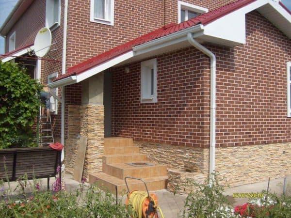 облицовочная плитка для фасада