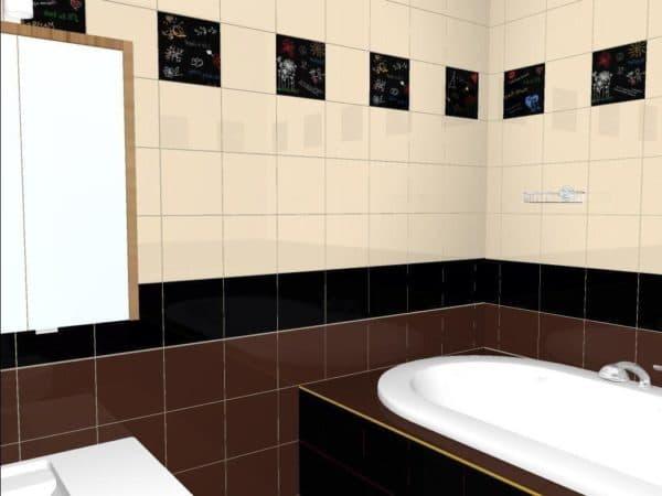плитка для ванной комнаты фото эпицентр