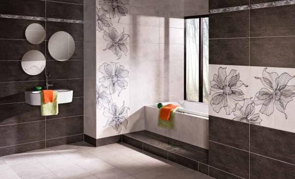 купить керамическую плитку в ванную комнату