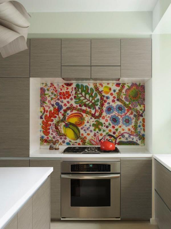 плитка для кухни на фартук мозаика каталог