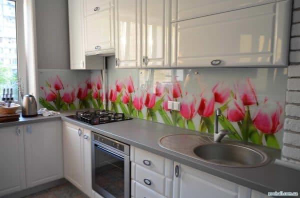 плитка мозаика для кухни на фартук фото