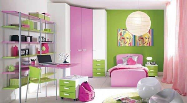 шторы для девочки подростка в спальню