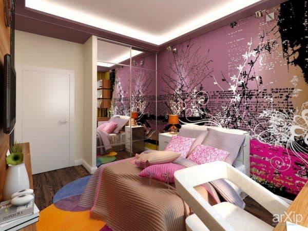 комната подростка девочки 14 лет