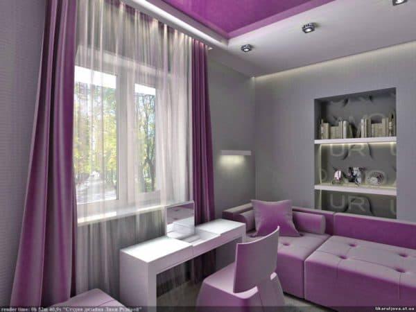 комната для девочек подростков фото