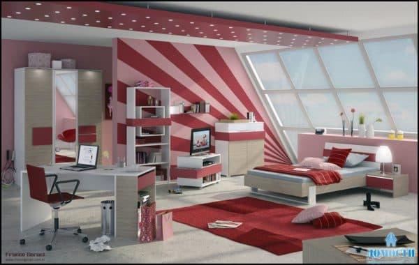 спальня для девочки подростка 15 лет