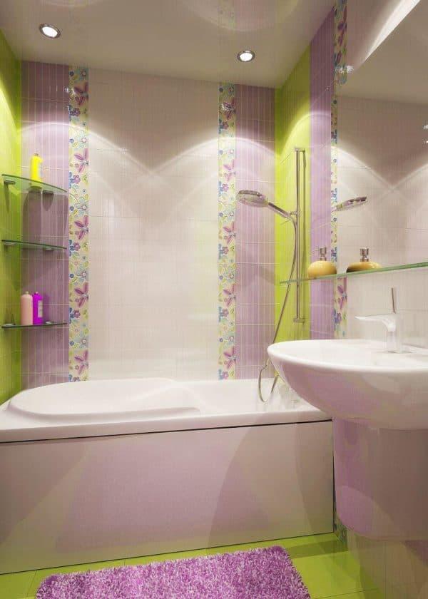 дизайн ванной совмещенной с туалетом фото