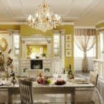 стиль барокко в интерьере спальни, кухни, гостинной
