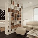 Идеи зонирования спальни.