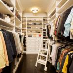 Организуем дизайн гардеробной комнаты