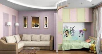 однокомнатной квартиры для семьи с ребенком