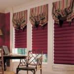 Виды римских штор для кухни, спальни, кабинета