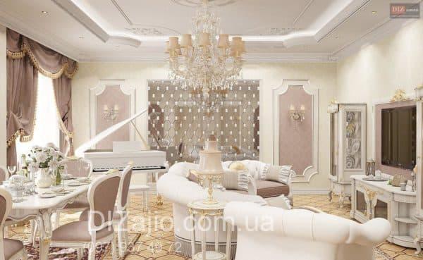 Гостиная в стиле барокко: в интерьере, в архитектуре, в одежде, в музыке, в квартире, дом в стиле барокко, кухни, диваны, интерьер, декор, дизайн