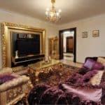 Барокко для гостиной — роскошь в вашем доме