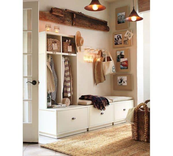 Дизайн узкой прихожей: прихожая для узкого коридора, обувница, шкаф-купе, тумбы, идеи, интерьер прихожей