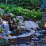 Фонтаны и водопады в ландшафтном дизайне