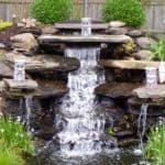 Водопады в ландшафтном дизайне и обустройство фонтанов